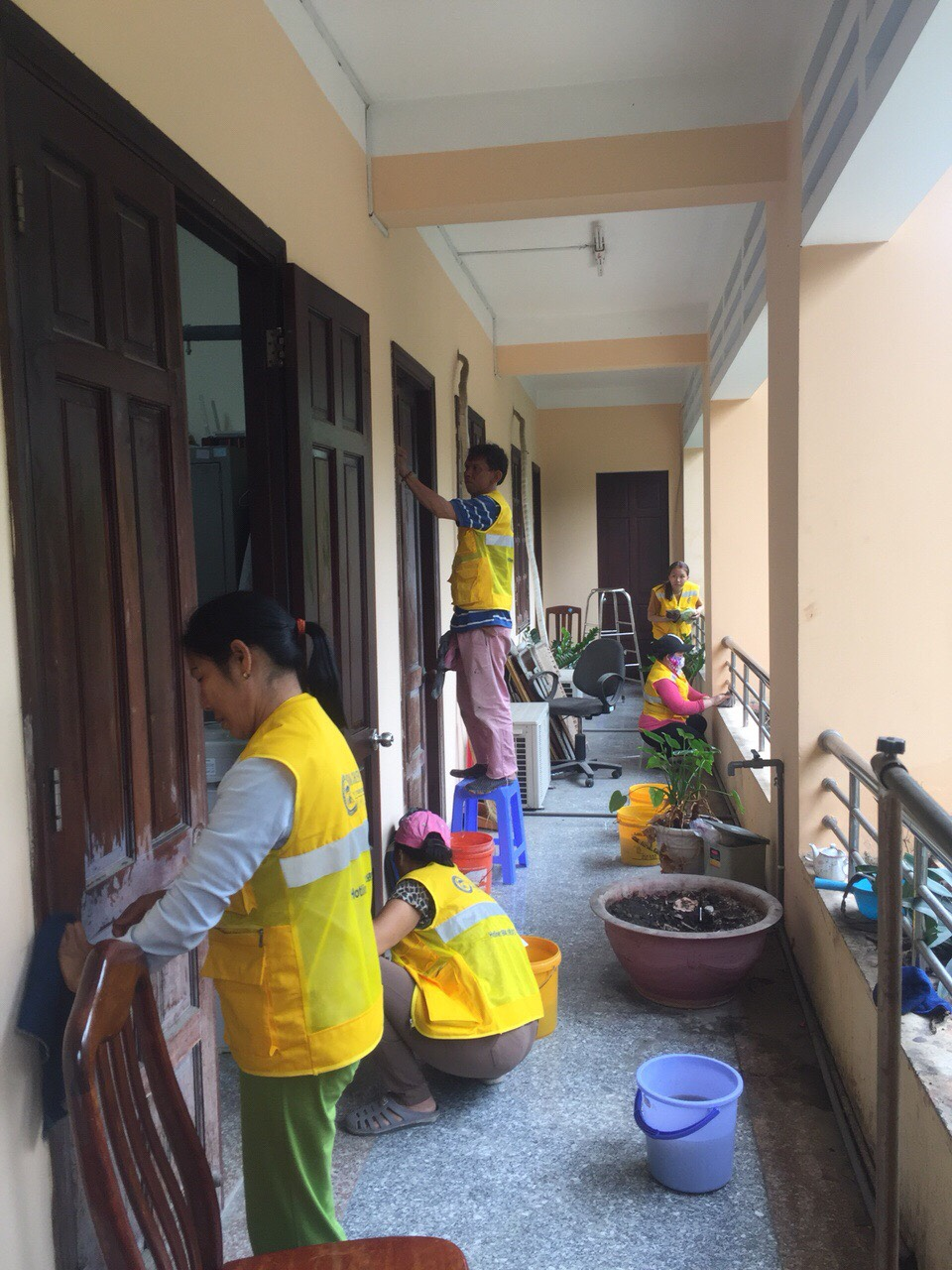 Dịch vụ vệ sinh bảo dưỡng làm sạch