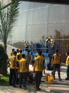 Dịch vụ phục hồi sàn đá, bê tông
